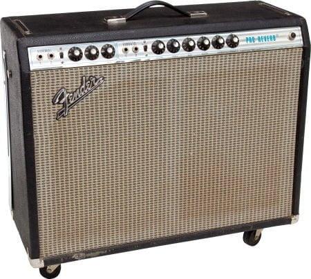 Röhren Set für Verstärker Fender Pro Reverb 1974-1982
