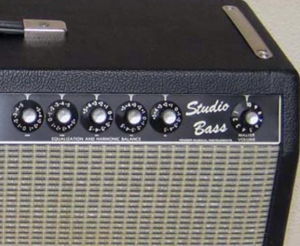 Röhren set für verstärker Fender Studio Bass