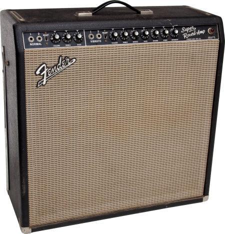Röhren set für verstärker Fender Super Reverb