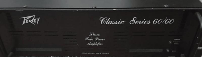 Röhren set für verstärker Peavey Classic 6060