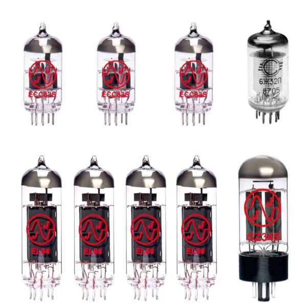 Matchless HC30 Verstärker Röhre Set (2 x 12AX7 1 x Symmetrische 12AX7 1 x EF86 1 x GZ34 4 x Gematchte EL84)